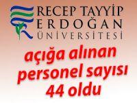 RTEÜ'de açığa alınan personel sayısı 44 oldu
