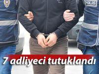 Rize'de 7 adliye personeli tutuklandı