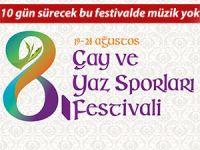 Rize'de 10 gün sürecek festivalde müzik olmayacak