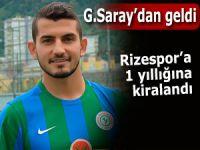Rizespor, Galatasaray'dan 1 yıllığına kiraladı