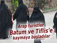 Arap turistler Batum ve Tiflis'e kaymaya başladı!