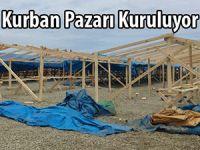 Rize Belediyesi Kurban Pazarını Derepazarı ilçesinde kuruyor