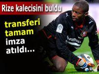 Rizespor'un yeni kalecisi Abdoulaye Diallo