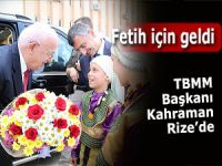 TBMM Başkanı İsmail Kahraman Rize'de