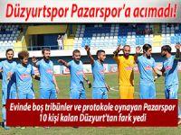 Düzyurt Pazarspor'a acımadı: 3-1
