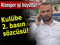 Rizespor'a ikinci basın sözcüsü