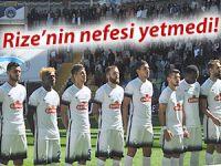 Rize'nin nefesi Kayseri'ye yetmedi