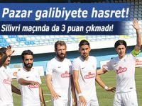 Pazarspor Silivri'de de galibiyete hasret kaldı!