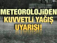 Karadeniz için yeniden kuvvetli yağış uyarısı