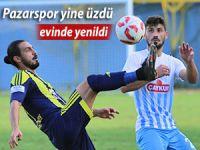 Pazarspor evinde Kırıkhanspor'a 2-0 mağlup oldu