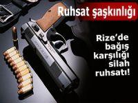 Rize'de silah ruhsatı almak için kuyruğa girdiler!