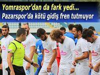 Pazarspor'da kötü gidiş fren tutmuyor