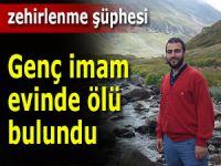 Rize'de cami imamı evinde ölü bulundu