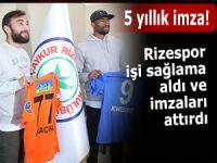 Rizespor'da Kweuke ve Orhan imzaları attı