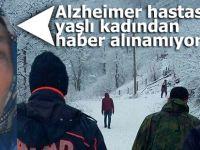 Alzheimer hastası kadından haber alınamıyor