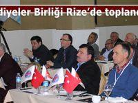 D.Karadeniz Belediyeler Birliği Toplantısı İkizdere'de yapılıyor