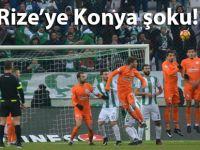 Rizespor Konya'da 3 puan bıraktı