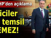 Rize MHP İl Başkanı Birben'den açıklama