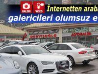 İnternetten araba satışları galericileri olumsuz etkiliyor