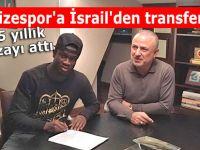 Rizespor'a İsrail'den 3,5 yıllık transfer
