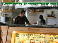 Karadeniz Bölgesinin ilk diyet restoranı açıldı