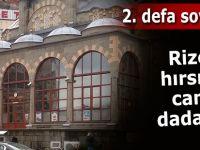 Rize'de hırsızlar camiye dadandı!