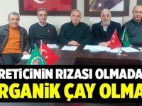 Çaykur'un Organik projesine Fındıklı ve Ardeşen'den eleştiri