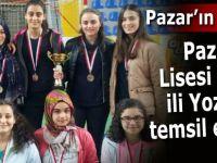 Pazar Fen Lisesi Rize'yi Yozgat'ta temsil edecek