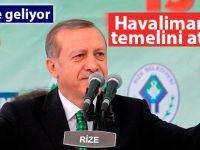 Cumhurbaşkanı Erdoğan Pazartesi Rize'de