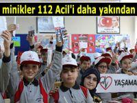 Rizeli minikler 112 Acil'i daha yakından tanıdı