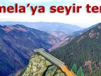 Sümela'ya seyir terası