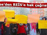 Rize'de istimlak mağdurlarının isyanı