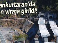 Cankurtaran Tüneli'nde sona yaklaşıldı