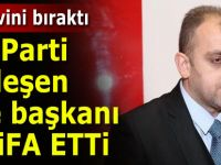 AK Parti Ardeşen ilçe başkanı görevinden istifa etti