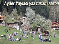 Ayder Yaylası yaz turizm sezonunu açtı