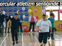 Özel sporcular atletizm şenliğinde buluştu
