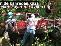 Ardeşen'de kahreden kaza: 4 aylık bebek hayatını kaybetti
