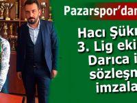 Hacı Şükrü Pazarspor'dan uçtu; Darıca ile imza attı