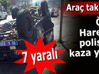 Özel harekat polisleri kaza yaptı: 7 yaralı