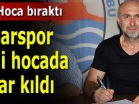 Pazarspor yeni hocada karar kıldı!