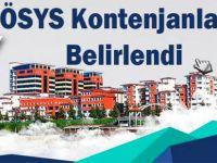 RTEÜ 2017 ÖSYS kontenjanları belirlendi