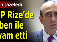 MHP Rize'de Birben ile güven tazeledi