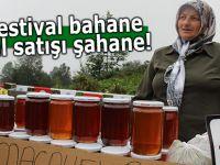 Festival bahane bal satışı şahane!