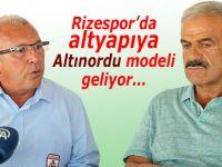 Rizespor'da altyapıya Altınordu modeli getiriliyor