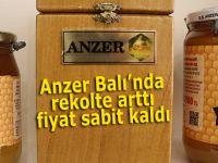 Anzer Balı'nın rekoltesi çıktı fiyatı sabit kaldı!