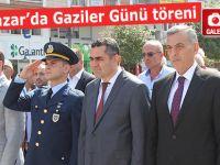 Pazar'da Gaziler Günü dolayısıyla tören