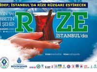 RİDEF; İSTANBUL'DA RİZE RÜZGARI ESTİRECEK