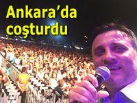 Karadenizli sanatçı Erol Şahin başkent Ankara'da coşturdu