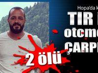 Artvin Hopa'da trafik kazası: 2 Ölü