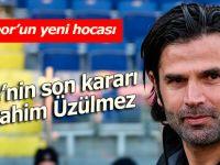 Rizespor sezon sonuna kadar İbrahim Üzülmez'e emanet
